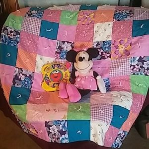 Extra Large Patchwork Baby Quilt